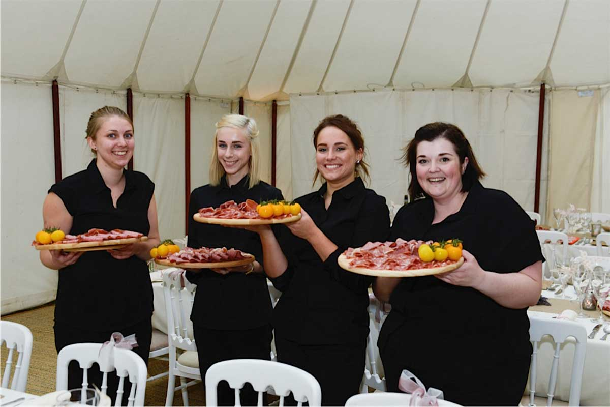Catering For A Norfolk Wedding